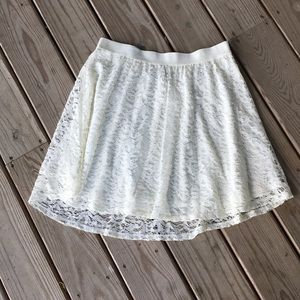 LC Lauren Conrad Lace Skirt